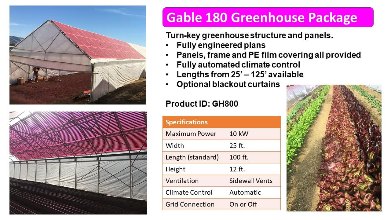 Greenhouse Package